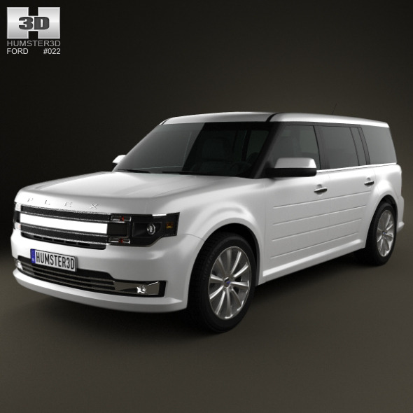 Ford Flex 2013 - 3DOcean Item for Sale
