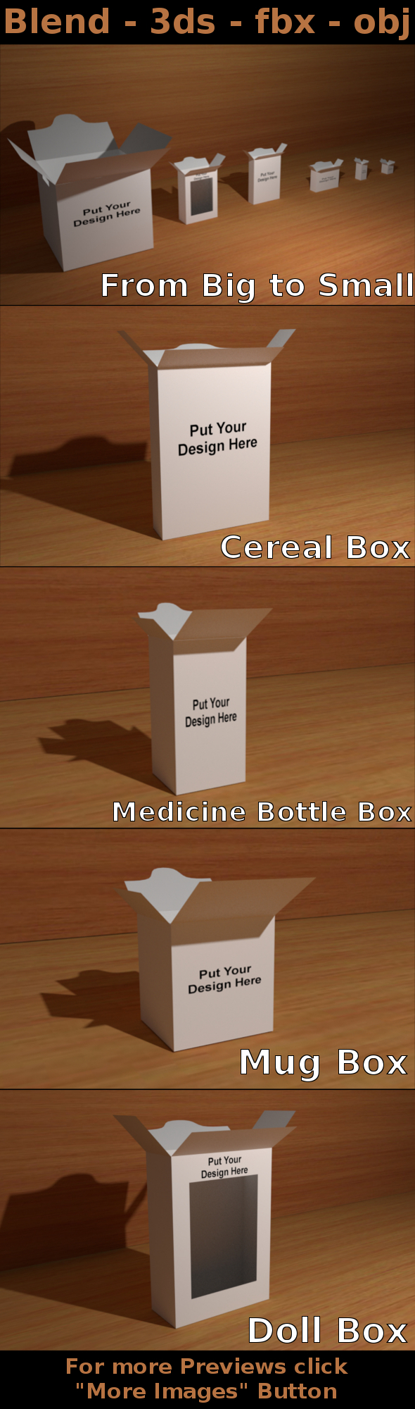 Box Packaging Collections
