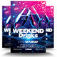 Weekend Drinks Party Flyer - GraphicRiver Item for Sale