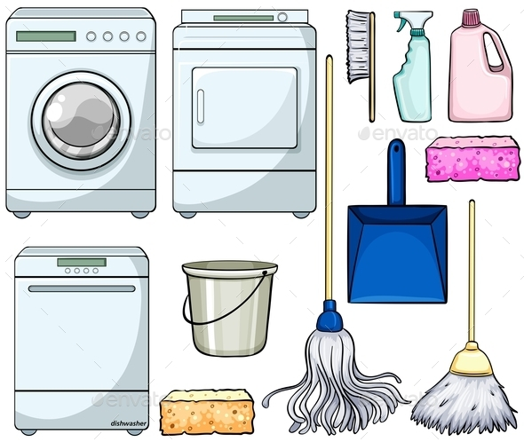 GraphicRiver Cleaning Objects 11218617