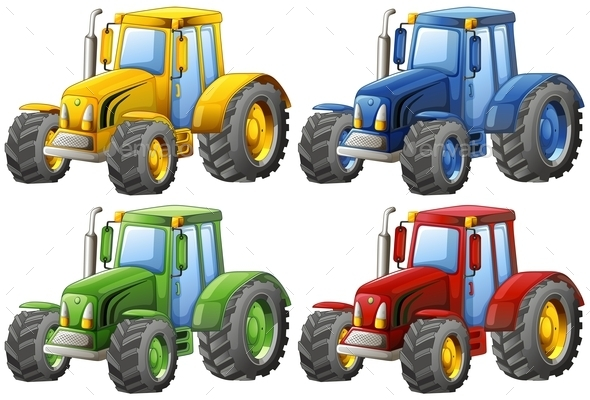 GraphicRiver Tractors 11218645