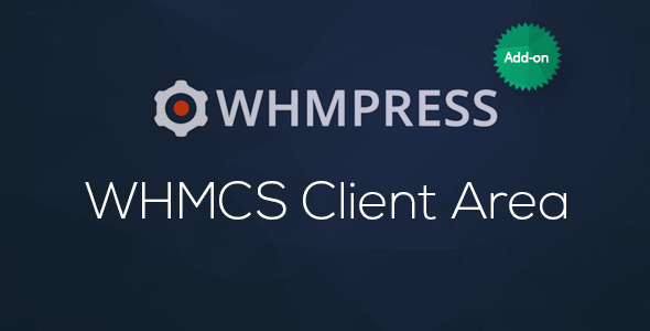 CodeCanyon WHMCS Client Area WHMpress Addon 11218646