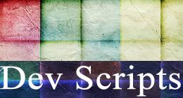 Developer Scripts