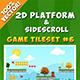 2D Platform & Sidescroll Tileset #6
