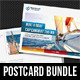 3 in 1 Boat Sailing Postcard Template Bundle 01 - GraphicRiver Item for Sale