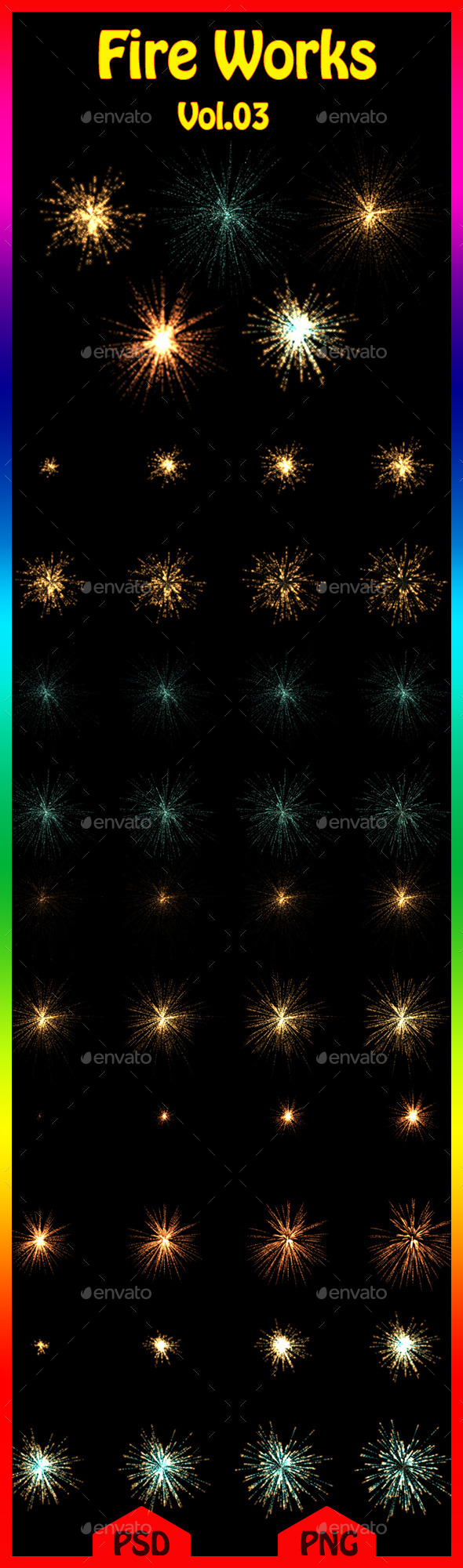 GraphicRiver Fire Works Vol.03 11219292