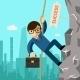 Businessman Aspires To Leadership - GraphicRiver Item for Sale
