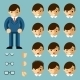 Businessman Cartoon Emotions - GraphicRiver Item for Sale