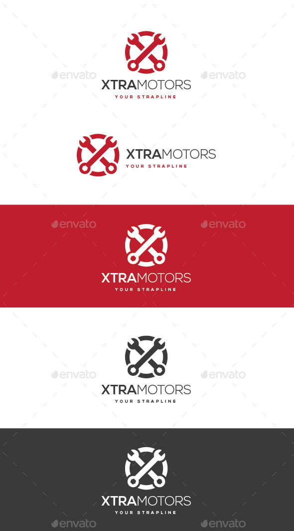 GraphicRiver Xtra Motors Logo 11220175