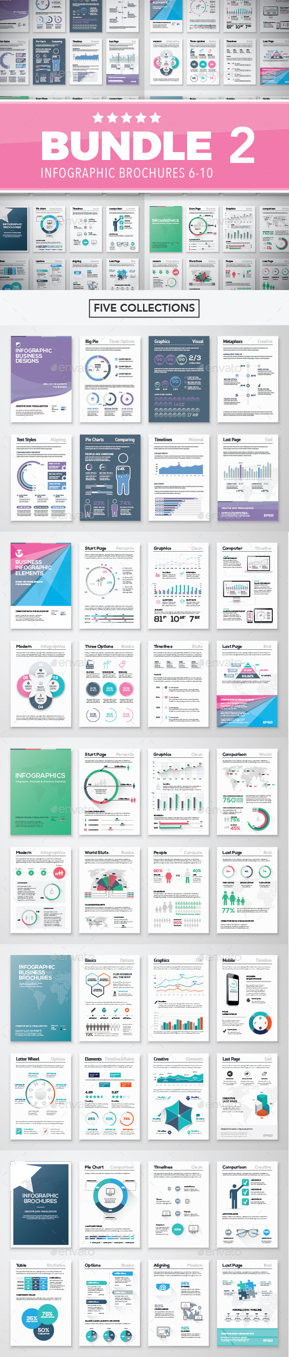 GraphicRiver Infographic Brochure Elements Bundle 2 11220272