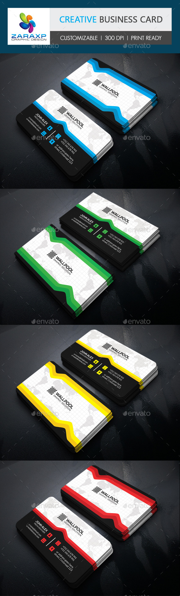 GraphicRiver Creative Business Card 11220287