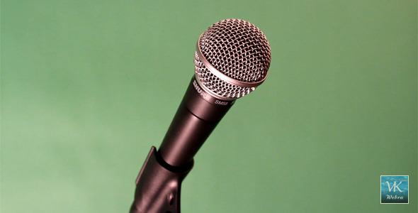 Microphone On Green Screen. VideoHive Stock Footage  Special Events 1125416 torrent