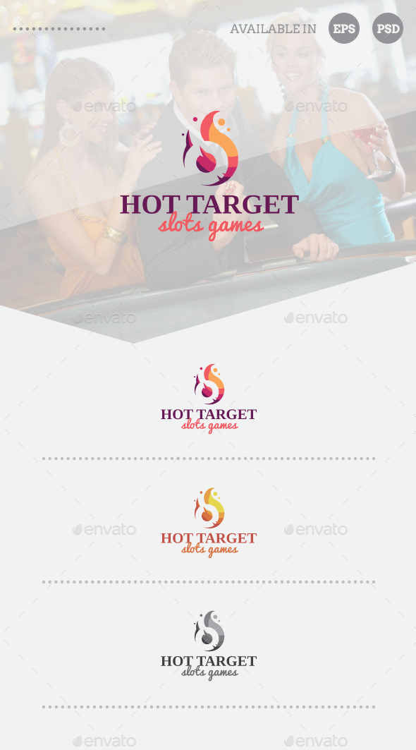 GraphicRiver Hot Target Logo Template 11220420