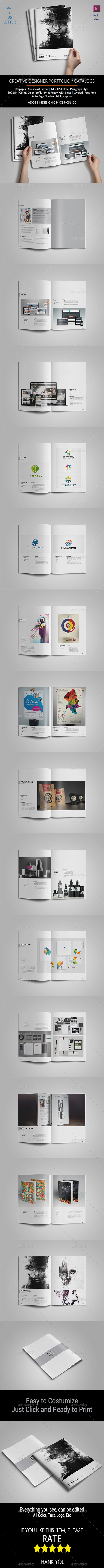 GraphicRiver Creative Designer Portfolio 11220496