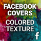Facebook Timeline Cover - Colored Texture - GraphicRiver Item for Sale