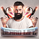 Beard Party & Barbershop Flyers - GraphicRiver Item for Sale