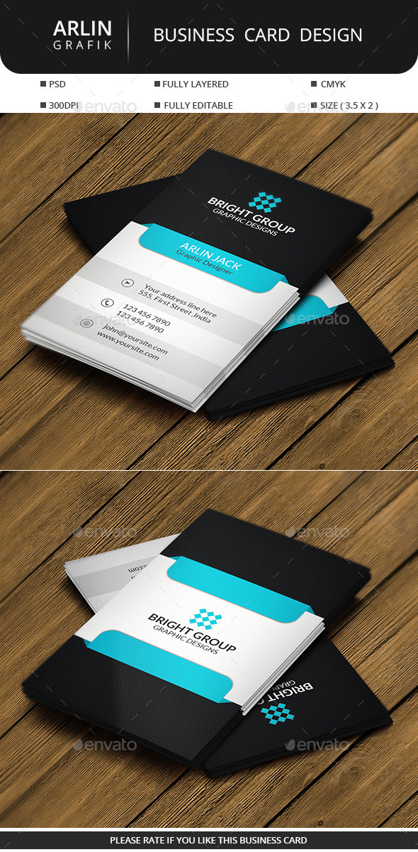 GraphicRiver Corporate Business Card 11220799