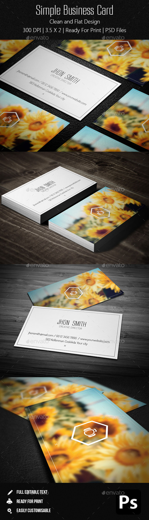 GraphicRiver Simple Business Card 11220845