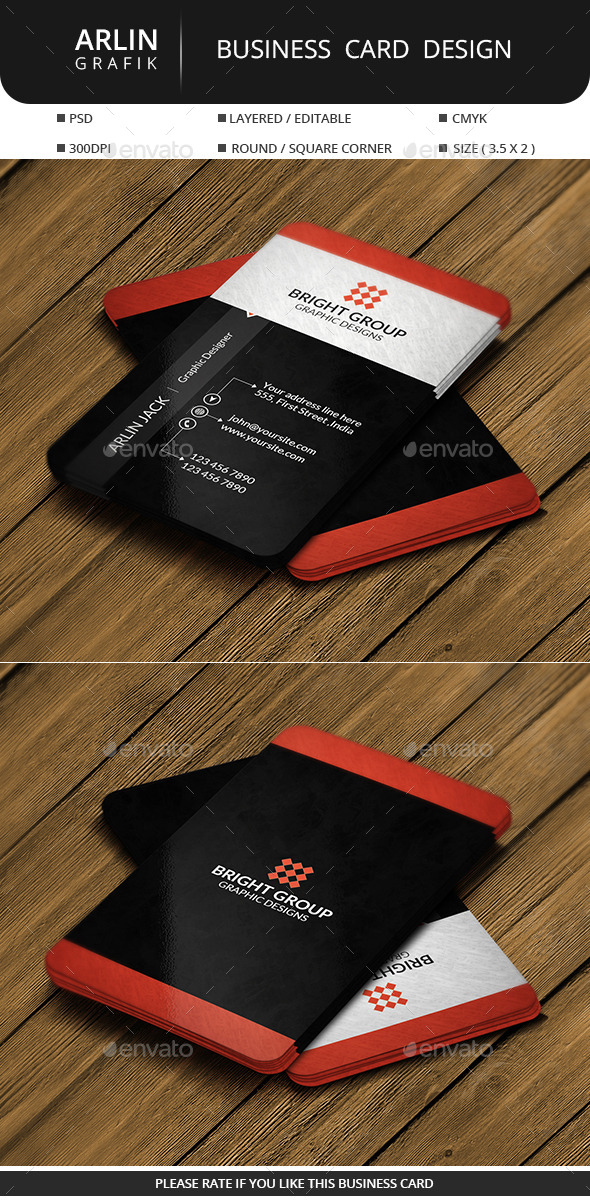 GraphicRiver Creative Business Card 11220876