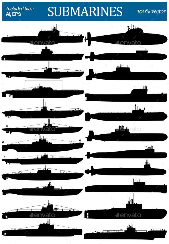 GraphicRiver Submarines 11220906