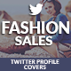 Twitter Covers - Fashion Sales - GraphicRiver Item for Sale