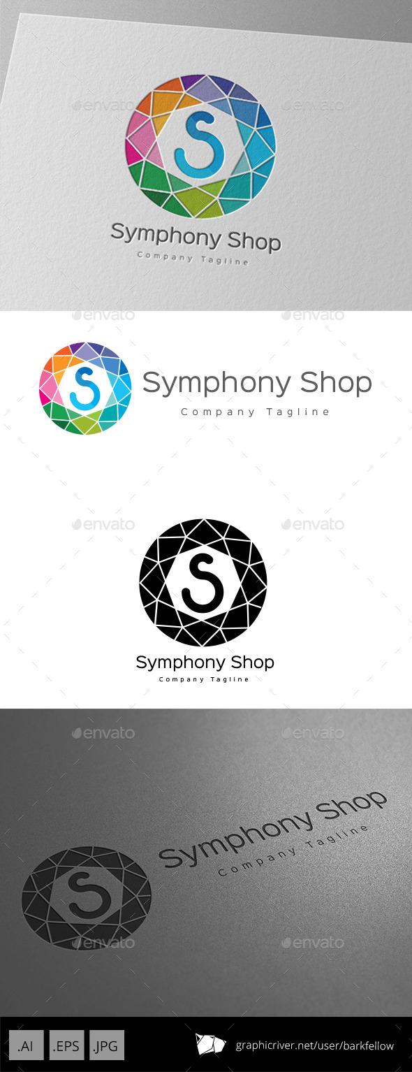 GraphicRiver Symphony Shop Letter S Logo 11221136