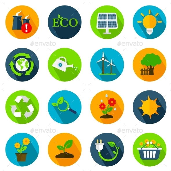 GraphicRiver Ecology Icons 11221225