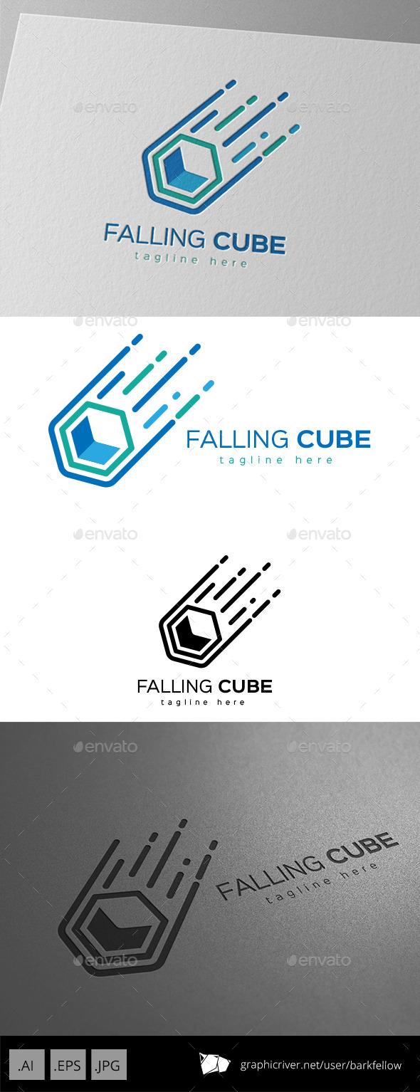 GraphicRiver Falling Cube Logo Design 11221241