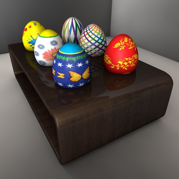 Easter Stone Egg 01 - 3DOcean Item for Sale