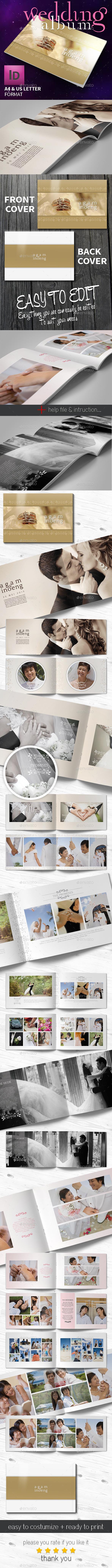 GraphicRiver Wedding Photo Album 11221785