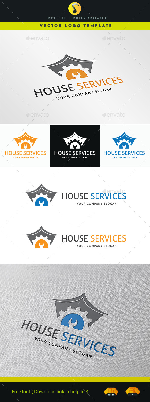 GraphicRiver House Services 11221853