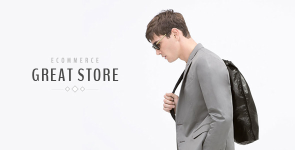 ThemeForest GREAT STORE eCommerce PSD Template 11221904