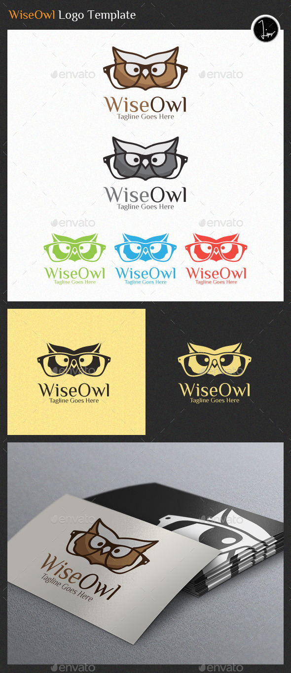 GraphicRiver WiseOwl Logo 11221940
