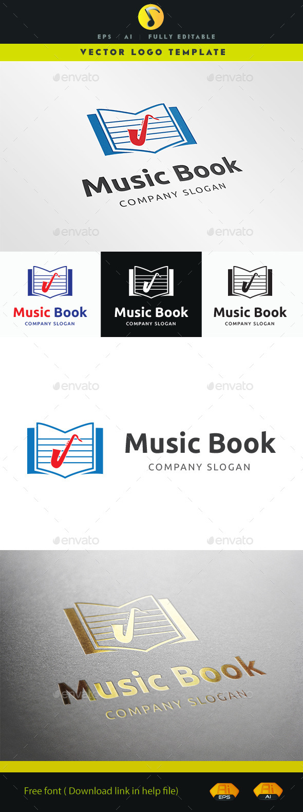 GraphicRiver Music Book 11221986