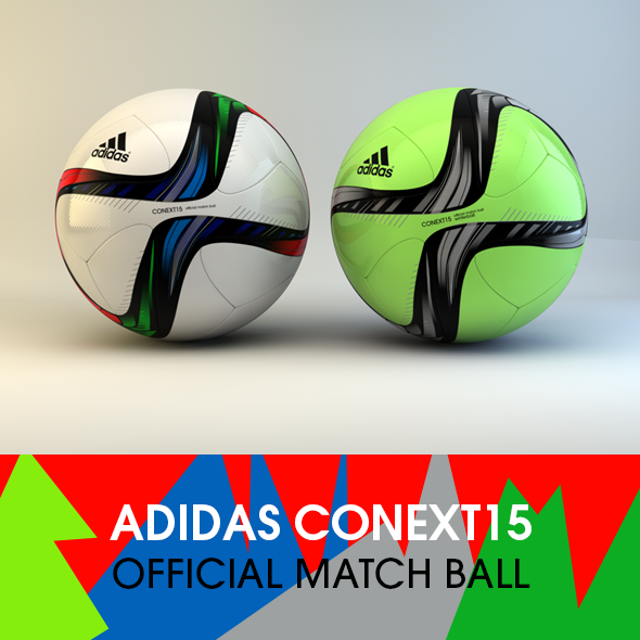 3DOcean Adidas Conext15 Official match ball 11222098