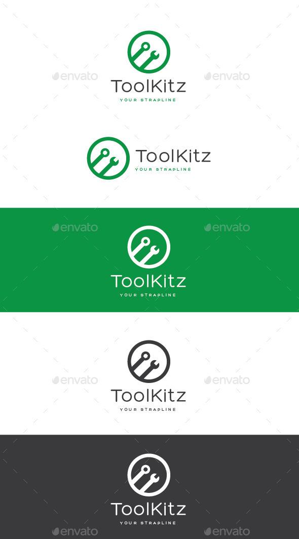 GraphicRiver Tool Kitz Logo 11222147