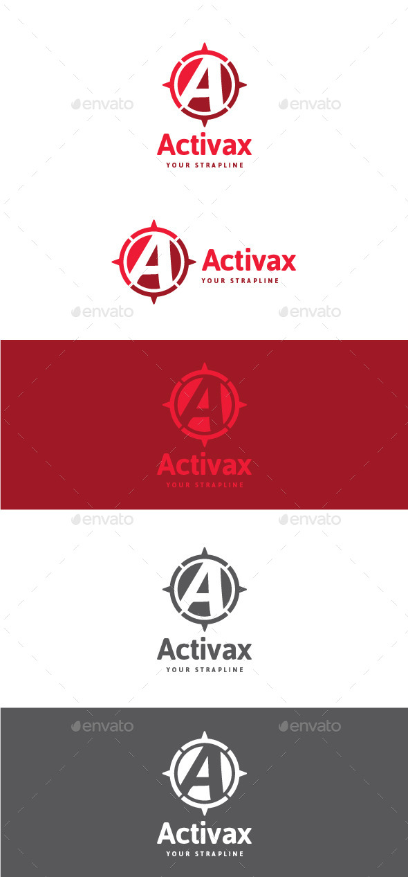 GraphicRiver Activax Letter A Logo 11222218