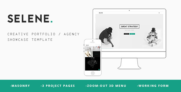 ThemeForest Selene Creative Portfolio Agency Template 11222224