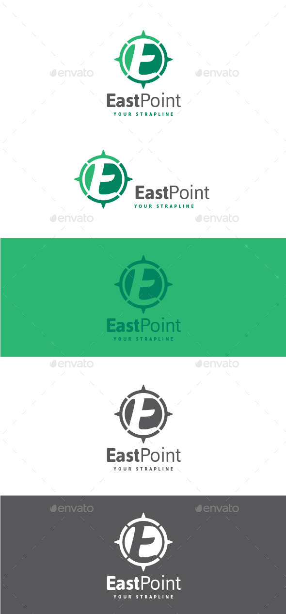 GraphicRiver East Point Letter E Logo 11222276