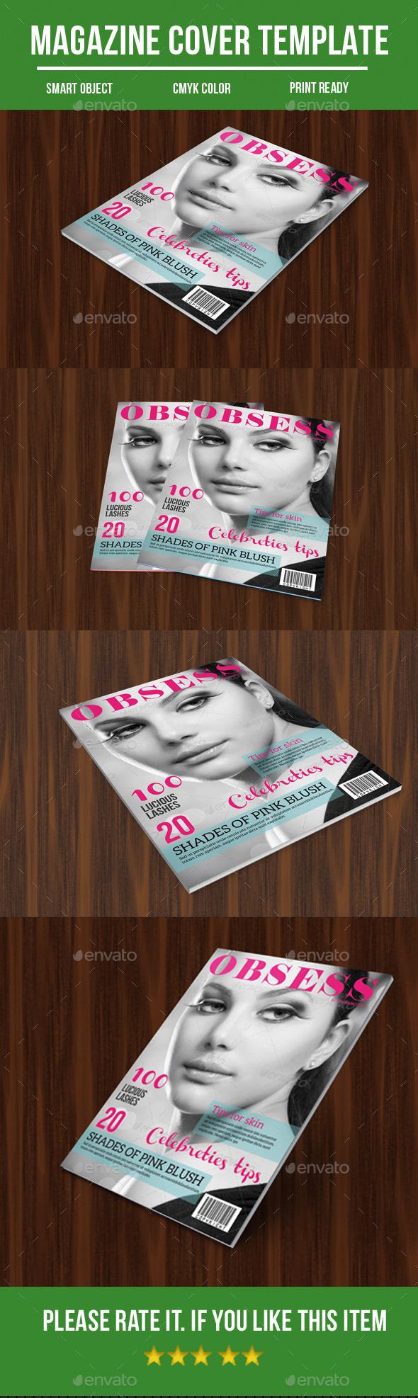 GraphicRiver Fashion Magazine Cover 11194608