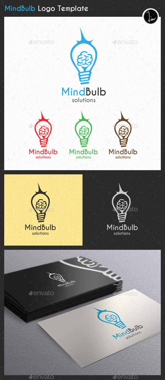 GraphicRiver MindBulb Logo 11222470