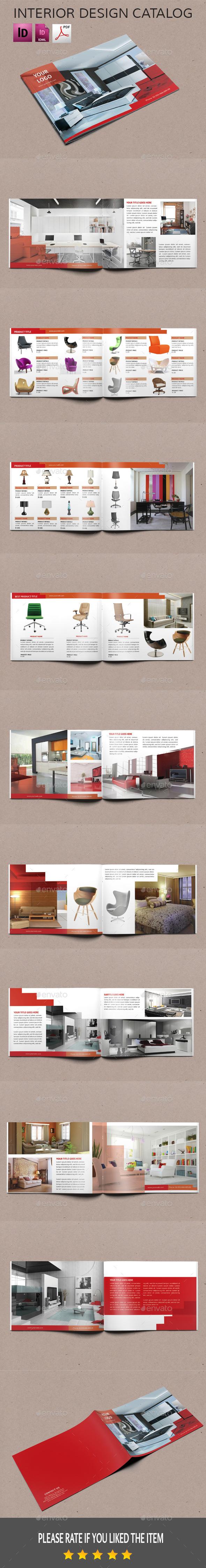 GraphicRiver landscape interior design catalog 11222532