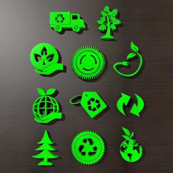 3DOcean Go Green Icon 11222750