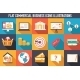 Commercial Business Icons - GraphicRiver Item for Sale