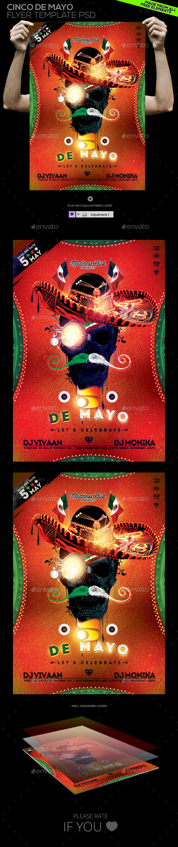 GraphicRiver Cinco de Mayo Flyer Poster 11202726