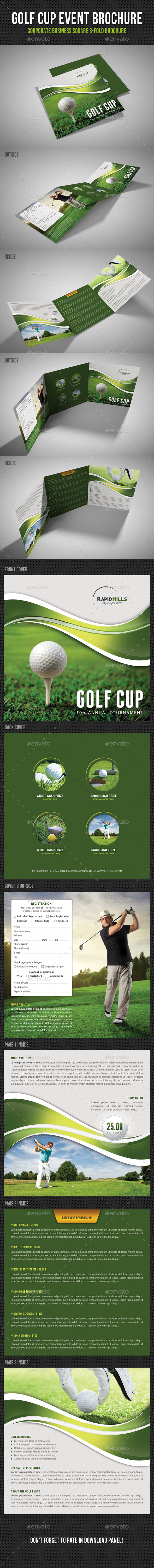 GraphicRiver Golf Cup Event Square 3-Fold Brochure V01 11224454