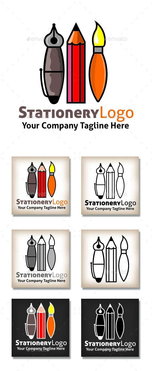 GraphicRiver Stationery Logo 11224480