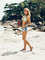 Pretty Woman Posing at the beach - PhotoDune Item for Sale