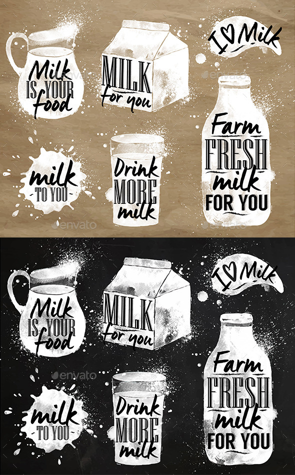 GraphicRiver Milk Symbolic 11224780