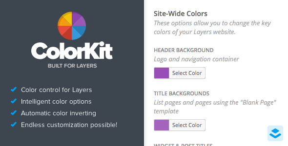 CodeCanyon ColorKit Color Customization for Layers 11225042